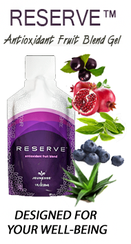 Reserve antioxidant fruit gel blend by Jeunesse Global USA and Worldwide sales