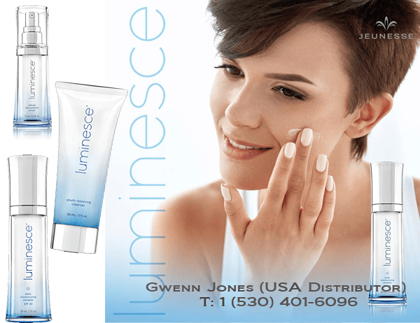 Luminesce Skin Care Products with APT-200 by Dr. Nathan Newman for Jeunesse Skin Care